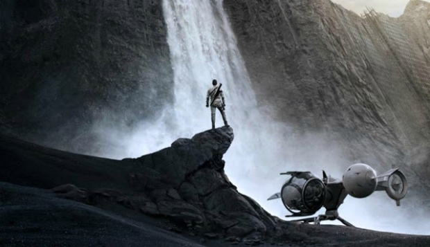 Oops, this is just a still from Oblivion...