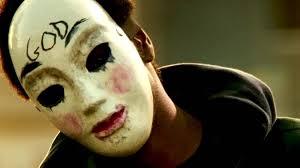 So many masks on Purge night...